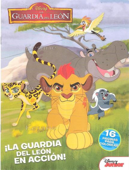 Libro Para Colorear Iluminar Rey Leon Mini Fiesta Bolo