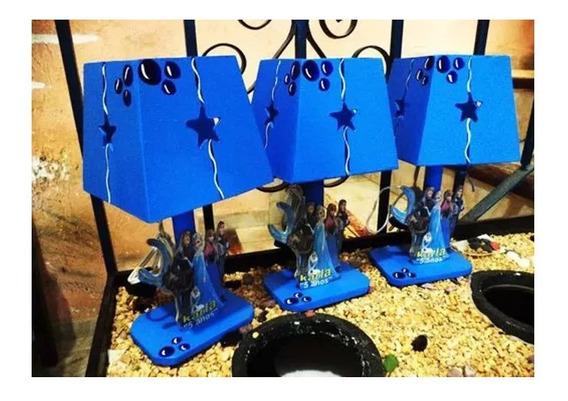15 Lamparas Frozen Personalizadas Centro Mesa Infantil