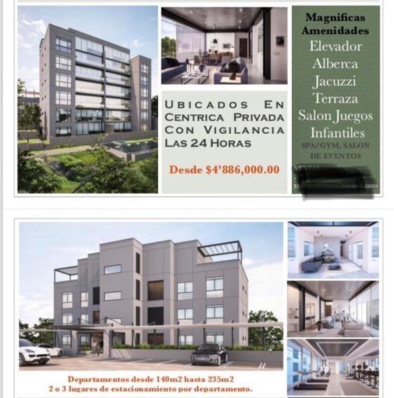 Departamento En Las Palmas / Cuernavaca - Tbr-819-de*