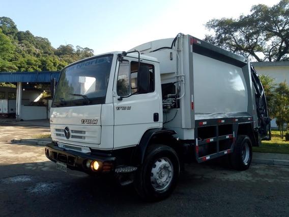 Caminhão Compactador De Lixo