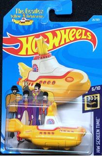 Hotwheels The Beatles Yellow Submarine 2017