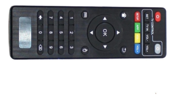 Controle Remoto Smart Tv Box Mx9/ Pro/ T96/ Tx2/ Tx3 Mini