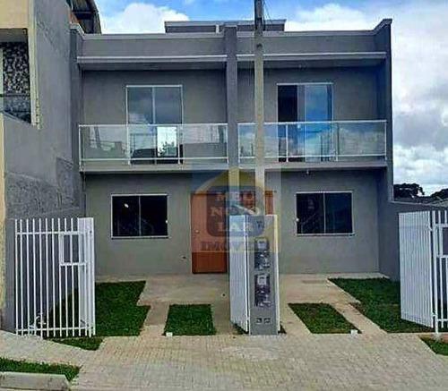 Imagem 1 de 15 de Sobrado Com 2 Dormitórios À Venda, 70 M² Por R$ 295.000,00 - Pinheirinho - Curitiba/pr - So0414
