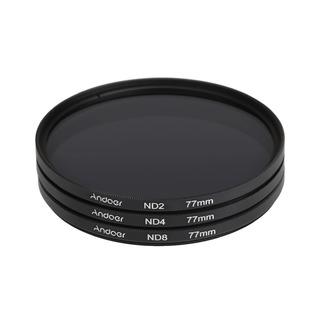 Andoer 77mm Fader Nd Filter Equipo Fotografía Densidad Neutr