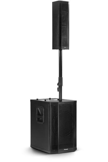 Sistema De Som Torre Grt12 Frahm Pa Ativo 500wrms Bluetooth