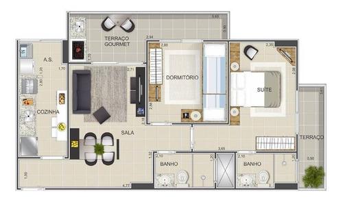 Imagem 1 de 12 de Apartamento - Venda - Tupi - Praia Grande - Vno54
