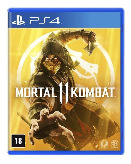 Jogo Mortal Kombat 11 Mídia Física - Ps4