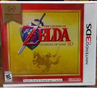 The Legend Of Zelda: Ocarina Of Time.-3ds (nintendo Selects)
