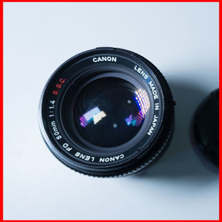 Objetivo Lente Análogo Canon Fd 50mm F1.4 Canon Nikon Sony