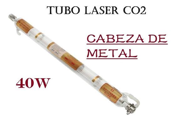 Tubo Láser Co2 40w Cabeza Metal Calidad Superior 720mm Corte