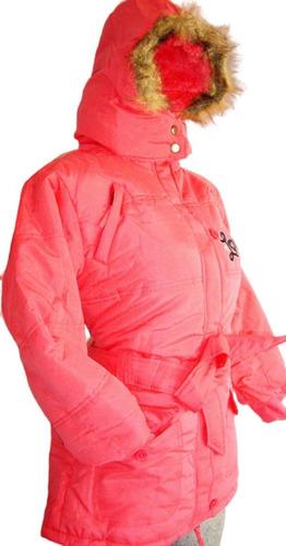 Chamarra Juvenil Proteccion Frio Intenso Invierno Nieve