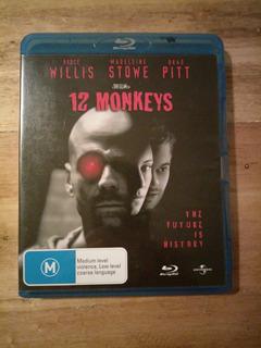 Lote Ficción 4 Blu Rays 12 Monos / Blade Runner / X Files