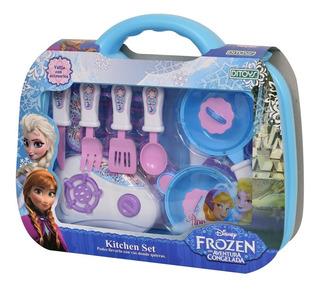 Juego De Cocina Frozen Kitchen Set Valija Ditoys Original