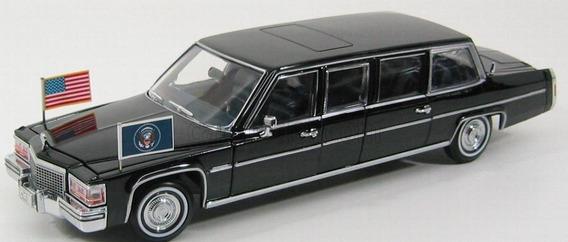 1/24 Cadillac 1983 Limousine Reagan Yatming 27 Cm Topminis