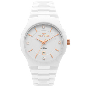 Relógio Technos Feminino Cerâmica Branco Gn10av/4b
