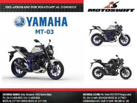 Yamaha Mt 03 Mt03 0km 2017 Entrega Inmediata Motoswift
