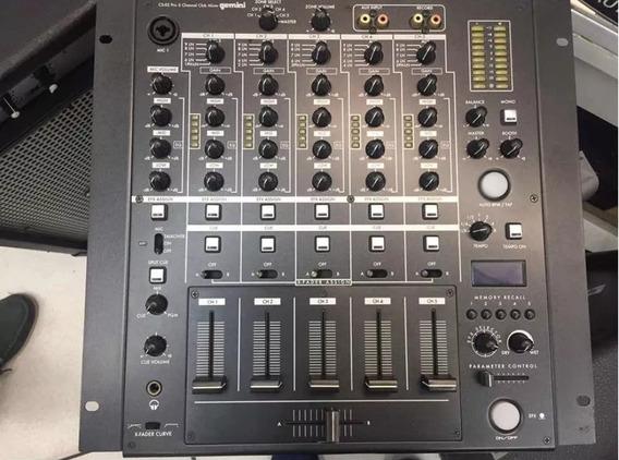 Mixer P/ Dj Gemini Cs-02 Semi Novo