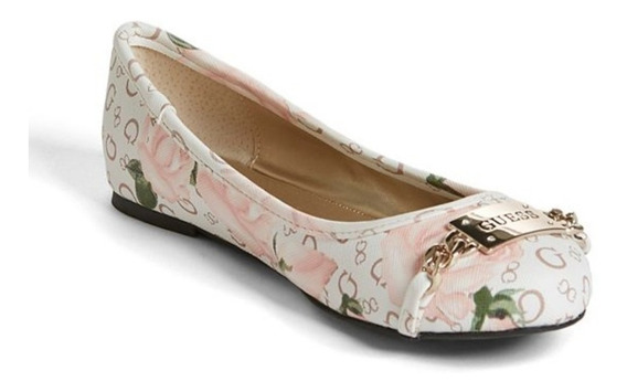 Zapato Guess 22 Mexicano Flats Para Dama