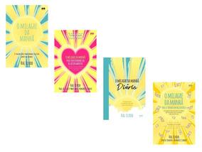 Kit 4 Livros - O Milagre Da Manhã #