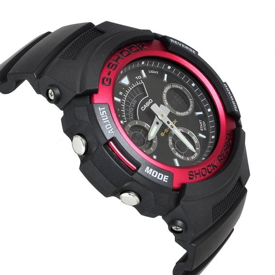 Relógio Casio G-shock Aw-591 Análogo/digital Hora 29 Países