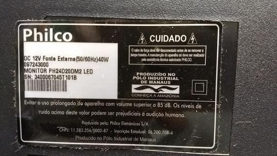 Placa Principal Tv Philco Mod Tv Ph24d20dm2 (usada)