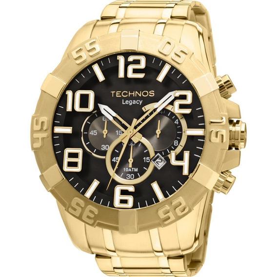 Relógio Technos Dourado Masculino Legacy Os20im/4p Autorizad