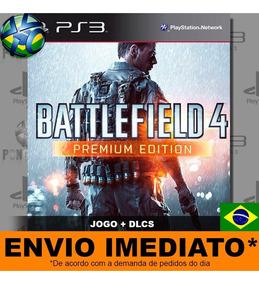 Battlefield 4 + 5 Dlcs Da Premium   Jogo Ps3 - Psn Promoção
