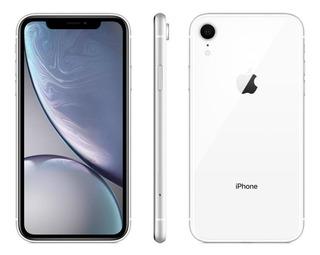 Celular Apple iPhone XR 256gb 3gb Ram 12mp Branco