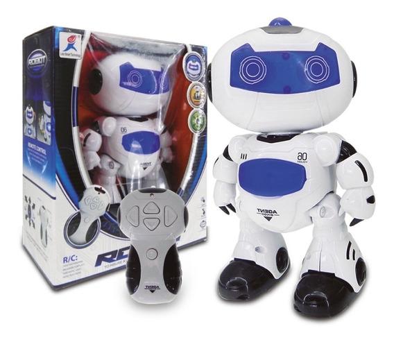 Robot Bingo A Control Remoto Luz Musica Original Full