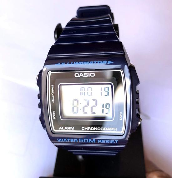 Relogio Casio W-215-cores Brilhante Wr50m Alarm Crono Luz