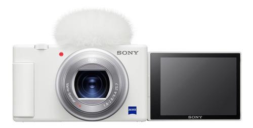 Sony ZV-1 compacta color  blanco