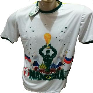 Camisa Da Copa Mancha Alvi Verde.