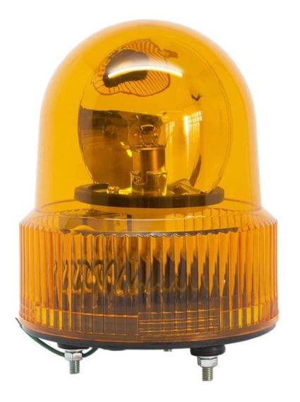 Sinalizador De Emergência Rotativo Laranja 24vcc 80db Trm-24-o Metaltex