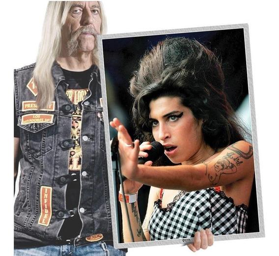 Placas Vintage Retrô Artista De Blues Amy Winehouse A2 04