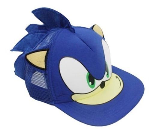 Sonic Jockie Gorra Azul