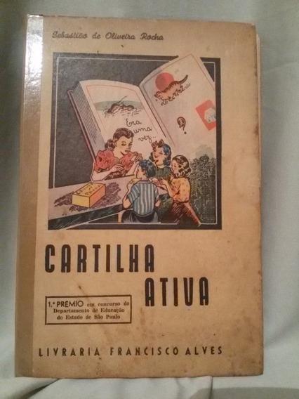 Antigo E Raro Livro Cartilha Ativa De 1944- Nº 5396ng