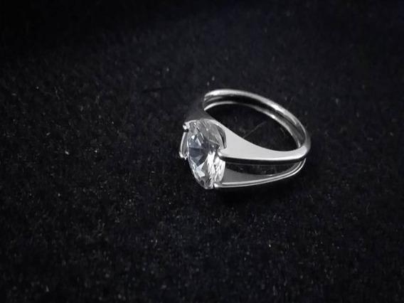 Anéis Feminino Em Aço Puro Prata Qualidade