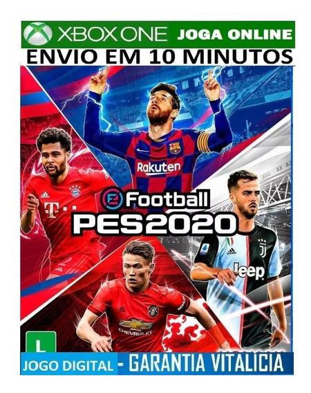 Pes 20 Xbox One Pes 2020 Efootball Xbox One - Mídia Digital Online Português