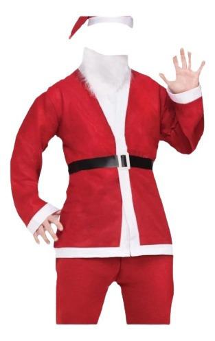Traje, Disfraz De Santa Claus Papá Noel Navidad