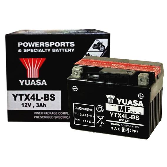Bateria Selada Brandy Pista 70 Original Yuasa Ytx4l