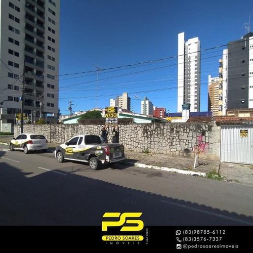 Terreno À Venda, 512 M² Por R$ 1.500.000 - Manaíra - João Pessoa/pb - Te0195