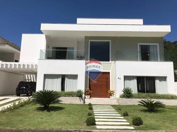 Reserva Do Itanhangá - Casa Com 5 Quartos, 624 M² - Itanhangá - Ca0425