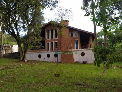 Imagem 1 de 20 de Chácara Com 4 Dormitórios À Venda, 4170 M² Por R$ 1.272.000 - Jardim Clube De Campo - Santo André/sp - Ch0461