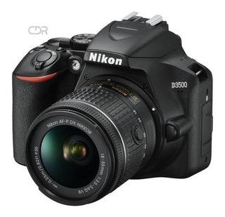 Camara Foto Profesional Nikon D3500 24mp Vr 18-55mm Ma