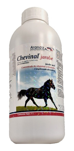 Chevinal Jarabe 1l Vitaminas Caballo Aranda