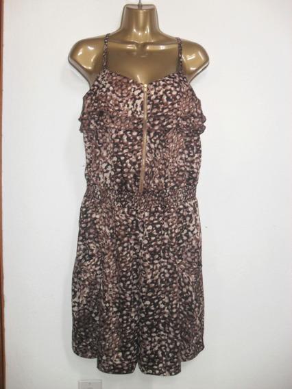 Vestido - Short Moroe & Main Mujer Talla M Leopardo Print