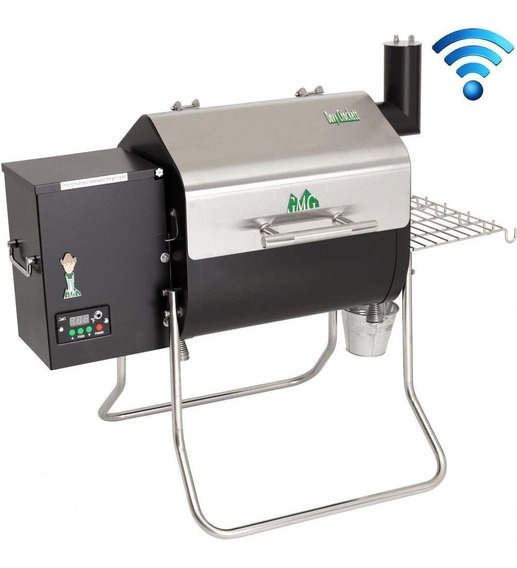 Parrilla Asador Davy Crockett- Wifi Green Mountain Pellets**