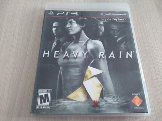 Heavy Rain Ps3 Completo Midia Fisica