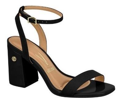 Sandália Moda Salto Baixo Grosso Confortavel 6409.100