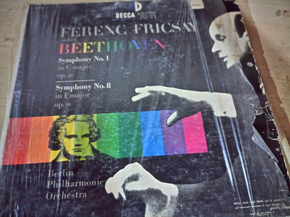 Vinilo Ferenc Fricsay Beethoven Sinfonia 1 Y 8